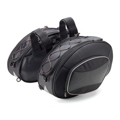 Sacoches cavalières extensibles Kappa RA310 noir