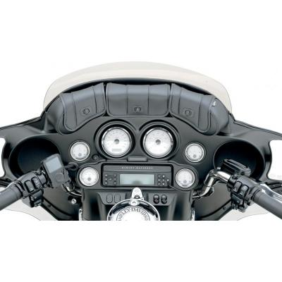 Sacoches de pare-brise Saddlemen Cruis'N Deluxe noires Harley Davidson FLHT 1450 Electra Glide 99-03