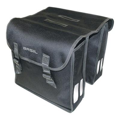 Sacoches latérales arrière vélo Basil Mara 26 Litres noir