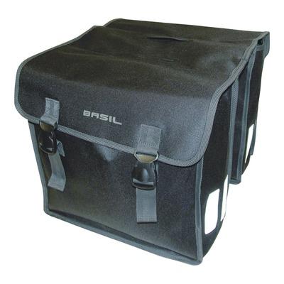 Sacoches latérales arrière vélo Basil Mara 35 Litres noir