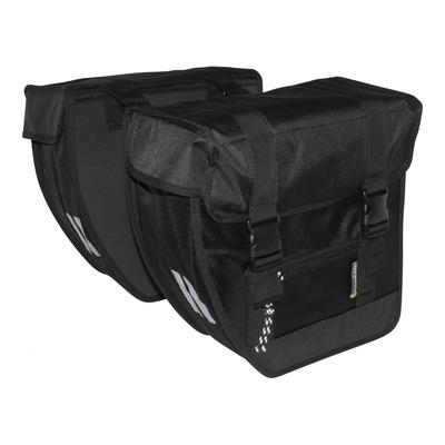 Sacoches latérales arrière vélo Basil Tour XL 40 Litres noir