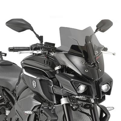 Saute vent bas Givi Yamaha MT-10 2016 fumé