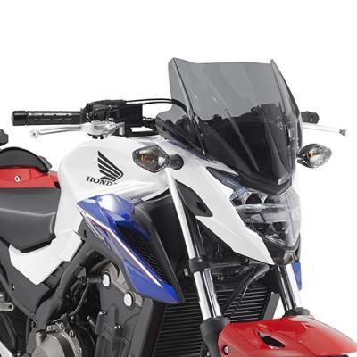 Saute vent Givi Honda CB 500F 2016 fumé