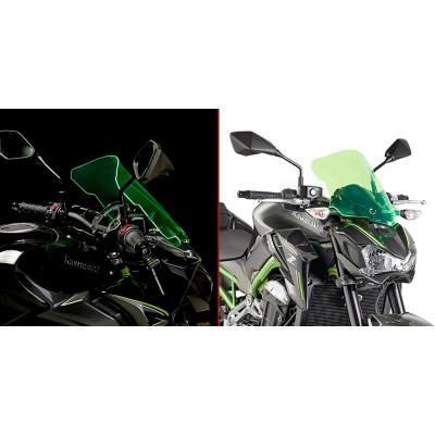 Saute vent Givi Lime Kawasaki Z900 17-18 vert transparent