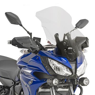Saute vent haut Givi Yamaha MT-07 2016 incolore