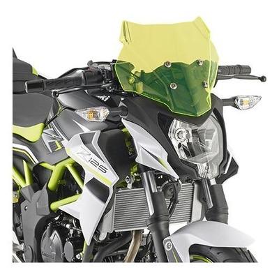 Saute-vent Kappa Lime Kawasaki Z125 19-20 vert translucide