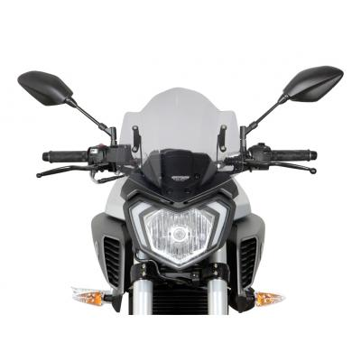 Saute-vent MRA Racing fumé Yamaha MT-125 14-18
