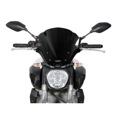 Saute-vent MRA Sport noir Yamaha MT-07 14-18