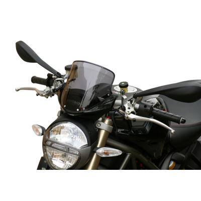 Saute-vent MRA Touring clair Ducati Monster 696 08-14
