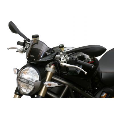 Saute-vent MRA type origine fumée Ducati Monster 696 08-14
