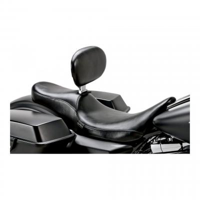 Selle Silhouette Le Pera (lisse) dosseret Harley Davidson Softail 08-19