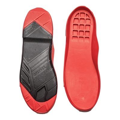 Semelles de rechange Thor pour bottes Radial noir/rouge