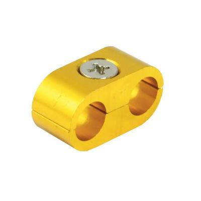 Séparateur de câble double anodisé or
