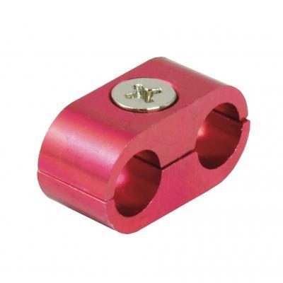 Séparateur de câble double anodisé rouge