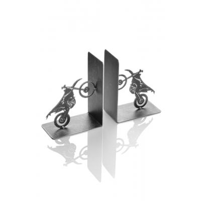 Serre-livres métal Booster MX 18cm