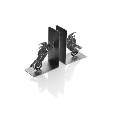 Serre-livres métal Booster Race 18cm