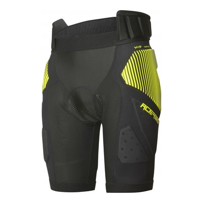 Short de protection Acerbis Soft Rush noir/jaune