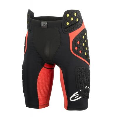 Short de protection Alpinestars Sequence Pro rouge/noir