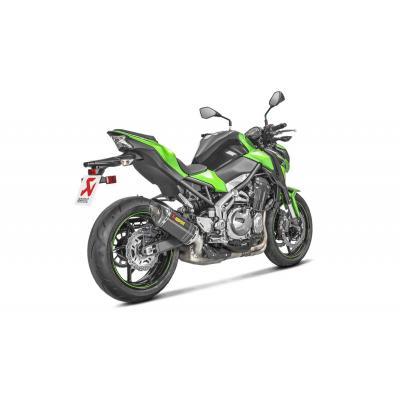 Silencieux Akrapovic full carbone Kawasaki Z900 2017