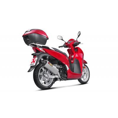 Silencieux Akrapovic Inox Honda SH 300i 16-17