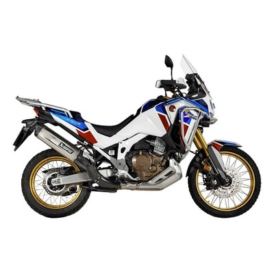 Silencieux Akrapovic titane embout carbone Honda CRF1100L Africa Twin 2020