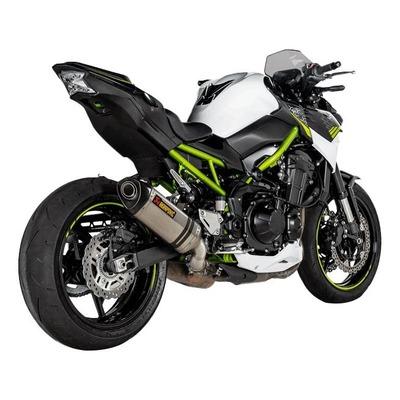 Silencieux Akrapovic titane embout carbone Kawasaki Z900 A2 2020