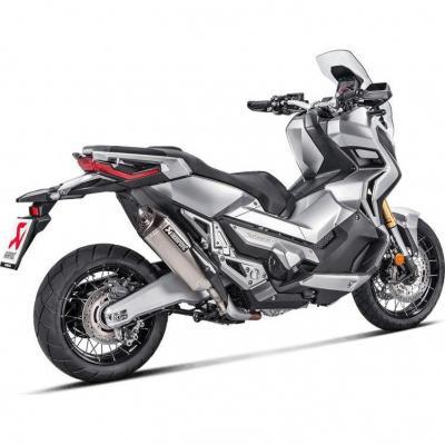 Silencieux Akrapovic titane Honda X-ADV 750 17-20