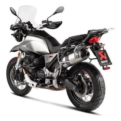Silencieux Akrapovic Titane Moto Guzzi V85 TT 19-20