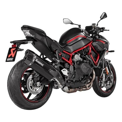 Silencieux Akrapovic Titane noir Kawasaki Z 1000 H2 2020