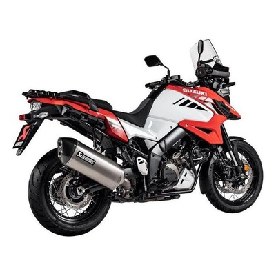 Silencieux Akrapovic titane Suzuki V-Strom 1050 2020