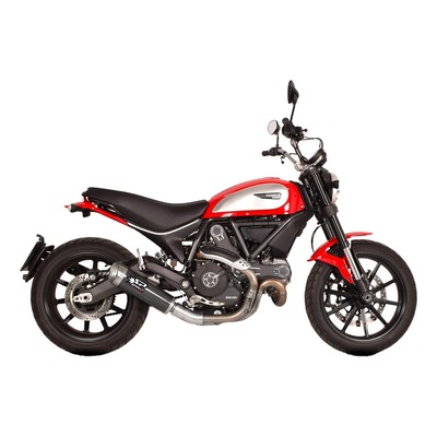 Silencieux homologué Spark Evo V carbone Ducati Scrambler 800 15-16