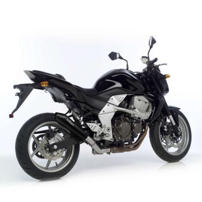 Silencieux Leovince GP Style inox noir Kawasaki Z 750 07-14