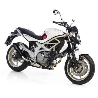 Silencieux Leovince GP Style inox noir Suzuki SFV 650 Gladius 09-15