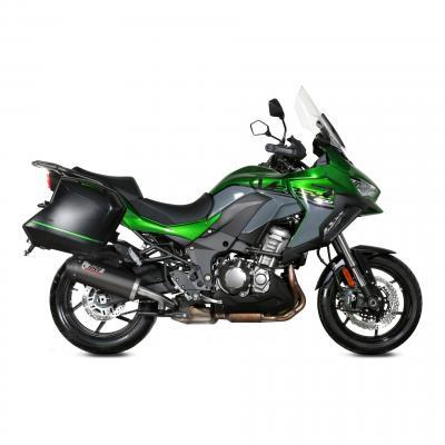 Silencieux Mivv Oval carbone Kawasaki Versys 1000 19-20