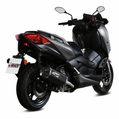 Silencieux Mivv Speed Edge inox noir Yamaha X-Max 300 17-19
