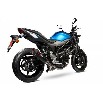 Silencieux Scorpion Serket Taper carbone Suzuki SV 650 16-17