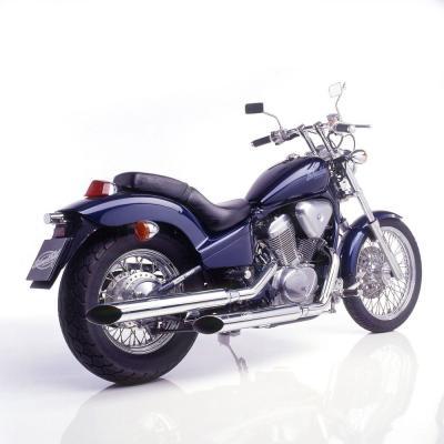 Silencieux SilverTail K02 pour Honda VT 600 C Shadow 88-00