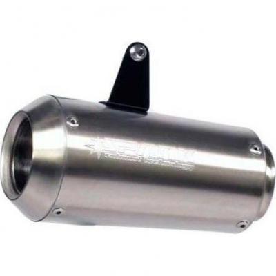 Silencieux universel Spark Moto-GP inox coté droit Ø 60 mm