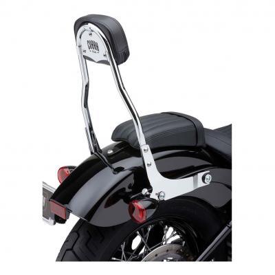 Sissybar amovible Cobra tube rond chromé Harley Davidson FXBB 1745 Softail Street Bob 18-19
