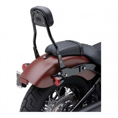 Sissybar amovible Cobra tube rond noir Harley Davidson FXBB 1745 Softail Street Bob 18-19