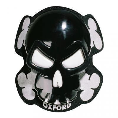 Sliders de genoux Oxford Skull noir