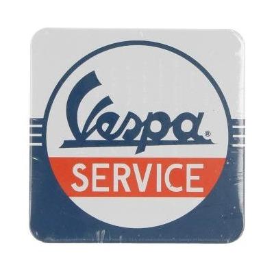 Sous-verre Vespa en tôle Vespa Service