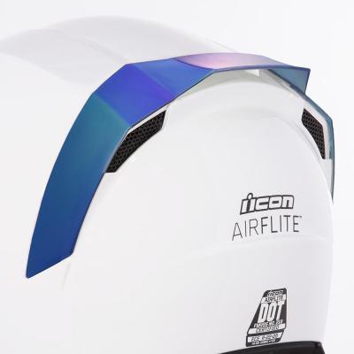 Spoiler arrière Icon pour casque Airflite bleu