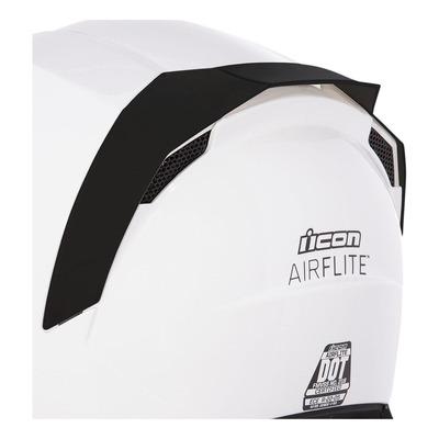 Spoiler arrière Icon pour casque Airflite noir
