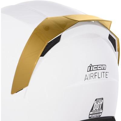 Spoiler arrière Icon pour casque Airflite RST go pro or