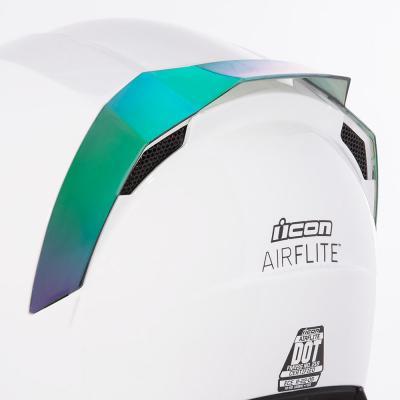 Spoiler arrière Icon pour casque Airflite vert