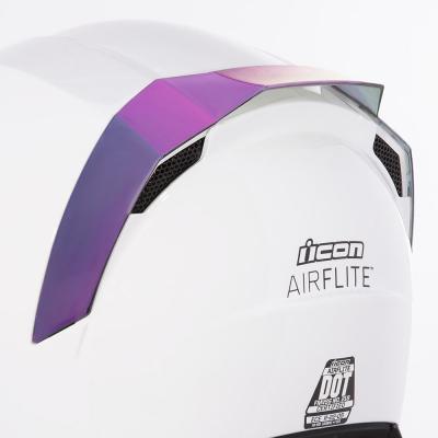 Spoiler arrière Icon pour casque Airflite violet