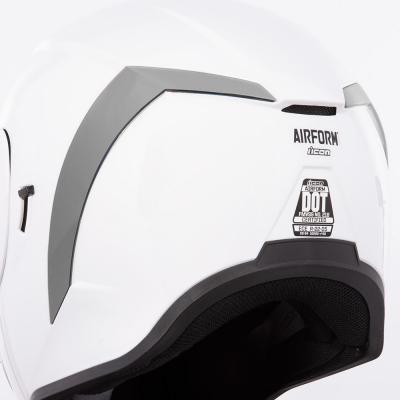 Spoiler arrière Icon pour casque Airform argent