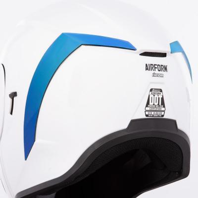 Spoiler arrière Icon pour casque Airform bleu