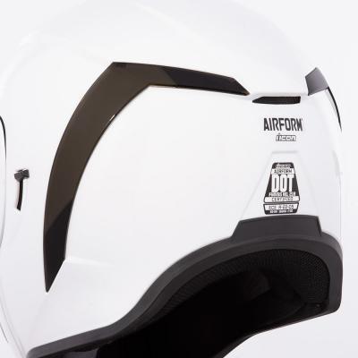 Spoiler arrière Icon pour casque Airform fumé